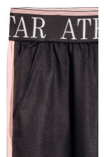 Pantaloni pull-on con bande - Nero/rosa -  | H&M IT 5