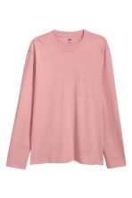 Shirt - Loose fit - Roze - HEREN | H&M NL 2