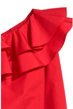One-shoulder blouse - Red - Ladies | H&M IE 3