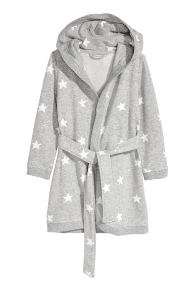 Dressing gown - Grey marl/Stars -  | H&M CN
