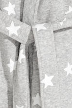 Bathrobe - Gray melange/stars - Kids | H&M CA 2