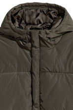 Padded jacket - Khaki green -  | H&M GB 3