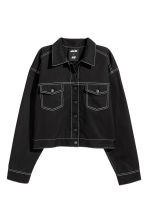 Short twill jacket - Black - Ladies | H&M 2