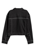 Short twill jacket - Black - Ladies | H&M 3