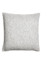 Wool-blend cushion cover - Grey - Home All | H&M CN 1