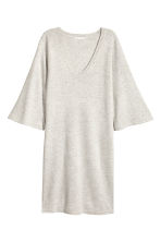 Fine-knit dress - Light grey - Ladies | H&M 2
