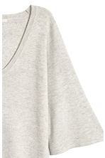 Fine-knit dress - Light grey - Ladies | H&M 3