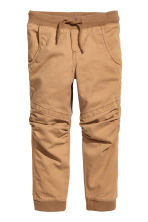 2-pack joggers - Dark blue/Camel - Kids | H&M 3