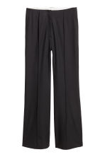 Wool suit trousers - Black - Ladies | H&M CN 2