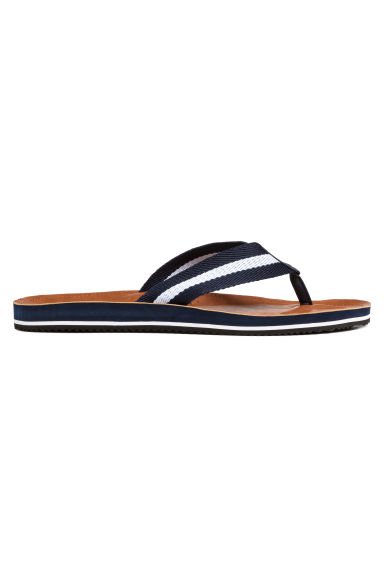 Flip-flops - Brown - Men | H&M IE
