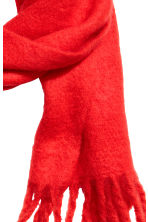 Woven scarf - Bright red - Ladies | H&M CN 2