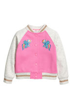 Baseball jacket - Pink/My Little Pony - Kids | H&M 2