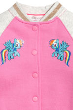 Baseball jacket - Pink/My Little Pony - Kids | H&M 3