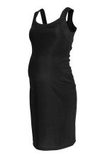 MAMA Bodycon dress - Black - Ladies | H&M 1