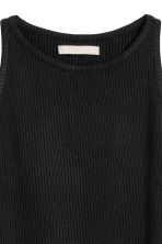 Short vest top - Black -  | H&M CN 3