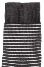 Striped socks - Black - Men | H&M 2