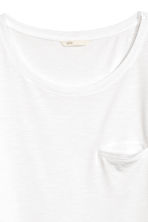 Slub jersey T-shirt - White - Ladies | H&M CN 2