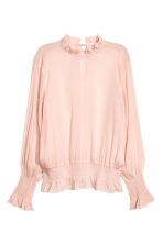 Crinkled chiffon blouse - null - Ladies | H&M CN 2