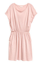 Jersey dress - Powder pink marl - Ladies | H&M 2