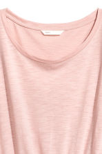 Jersey dress - Powder pink marl - Ladies | H&M 3