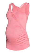 MAMA Nursing top with lace - Pink - Ladies | H&M 2