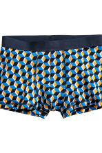 3-pack trunks - Blue/Patterned - Men | H&M 4