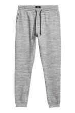 Tapered fit Joggers - Grey marl - Men | H&M 2