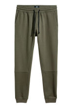 Tapered fit Joggers - Dark green - Men | H&M CN 2