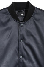 Padded baseball jacket - Dark blue/Black -  | H&M CN 3