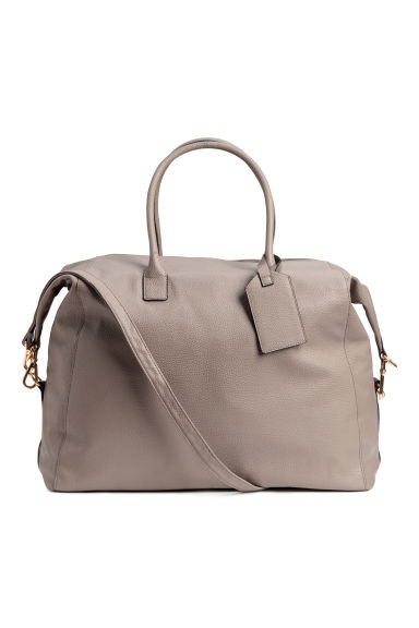 Sac week-end - Taupe clair - FEMME | H&M BE
