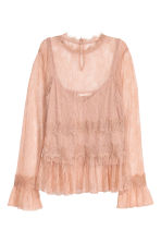 Top in pizzo - Cipria - DONNA | H&M IT 2