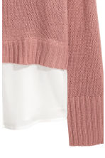 Knitted jumper - Vintage pink - Ladies | H&M 3