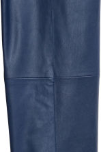 Pantaloni in finta pelle - Blu - DONNA | H&M IT 3