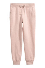 Joggers - Light pink marl - Ladies | H&M 2