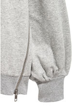 Oversized sweatshirt - Grey marl - Ladies | H&M CA 3