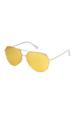 Sunglasses - Yellow/Gold-coloured - Men | H&M 1