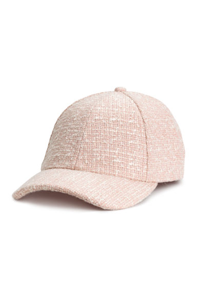 Textured cap - Powder pink - Ladies | H&M 1