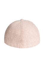 Textured cap - Powder pink - Ladies | H&M 2