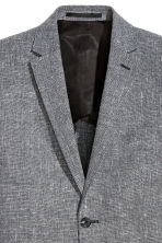 Blazer Slim fit - Gris chiné - HOMME | H&M BE 3