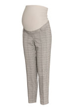 MAMA Cigarette trousers - Grey/Checked - Ladies | H&M IE 2