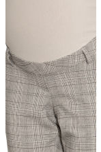 MAMA Cigarette trousers - Grey/Checked - Ladies | H&M IE 3