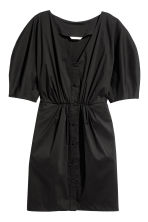 V-neck Dress - Black - Ladies | H&M CA 2