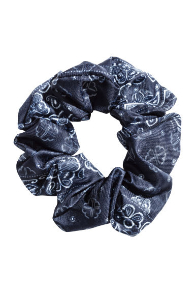Scrunchie - Blauw - DAMES | H&M BE 1
