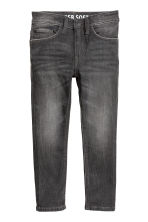Super Soft Skinny fit Jeans - Noir washed out - ENFANT | H&M FR 2
