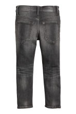 Super Soft Skinny fit Jeans - Black Washed out - Kids | H&M 3