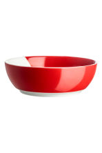 Christmas-motif bowl - White/Christmas elf - Home All | H&M IE 2