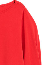 Jersey crêpe top - Red - Ladies | H&M CN 3