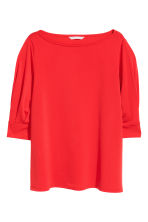 Jersey crêpe top - Red - Ladies | H&M CN 2