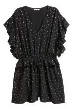 Glittery playsuit - Black - Ladies | H&M 2