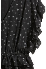 Glittery playsuit - Black - Ladies | H&M 3